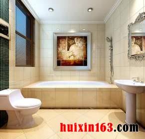 卫浴间龙8国际pt老虎机装饰