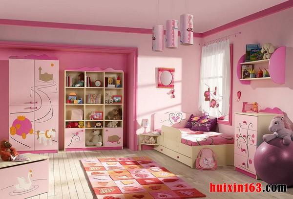 儿童公主两层床