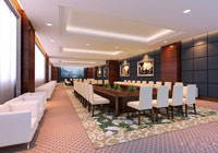 200平米会议室装修效果图 (3)