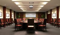 60平米会议室装修效果图 (5)