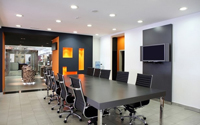 30平米会议室装修效果图 (4)