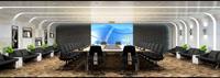 198平米会议室装修效果图 (5)