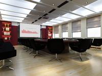 170平米会议室装修效果图 (4)