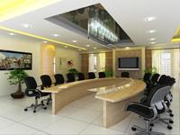 145平米会议室装修效果图 (3)