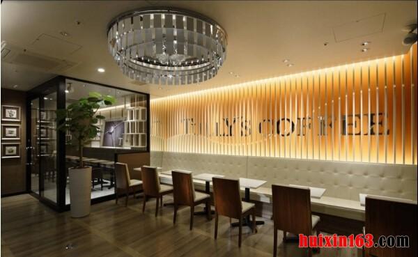 750平米咖啡厅装修效果图
