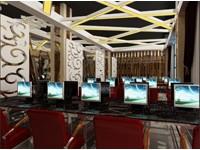 500平米网吧乐虎国际登陆设计效果图 (4)