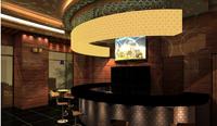 450平米咖啡厅装修效果图 (2)
