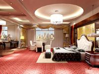 5000平米宾馆装修设计效果图 (4)