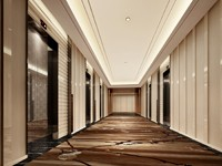 12000平米宾馆装修设计效果图 (5)