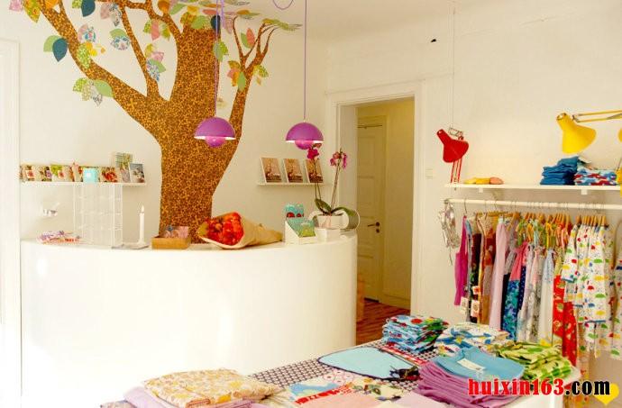 80平米童装店装修设计效果图
