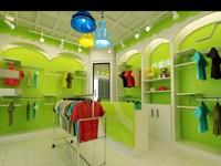 48平米童装店装修设计效果图 (3)