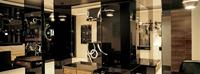 400平米美发店龙8国际pt老虎机设计效果图 (3)