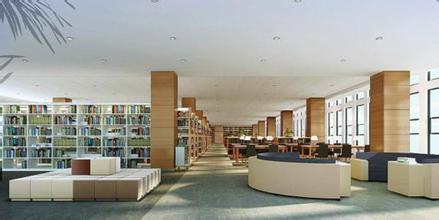 图书馆装修效果图
