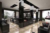 662平米眼镜店乐虎国际登陆设计效果图 (3)