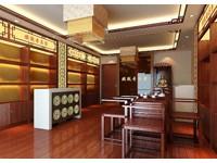 200平米茶叶店乐虎国际登陆设计效果图 (4)