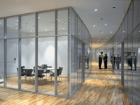 768平米写字楼玻璃隔断装修效果图 (4)