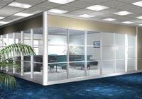 280平米写字楼玻璃隔断装修设计效果图 (4)