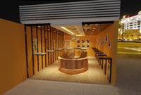 176平米水果店龙8国际pt老虎机设计效果图 (4)