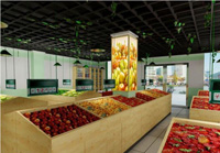 103平米水果店乐虎国际登陆设计效果图 (3)