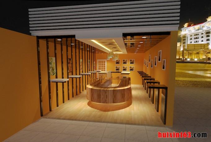 r240平米水果店装修设计效果图 日期