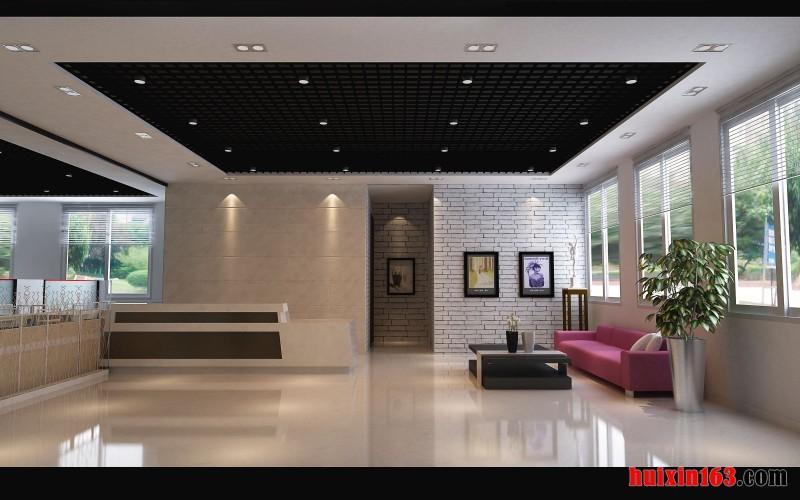 设计办公室效果图 写字楼装修 商业装修