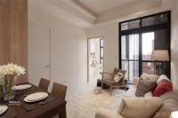 新世界君颐华庭-81.99平米-二居室-现代简约风格装修效果图 (5)
