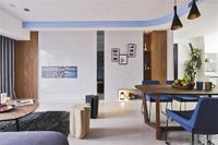 汇艺园-90平米-三居室-现代简约风格装修效果图 (4)