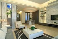 万科金域-85平米-三居室-现代简约风格装修效果图 (6)