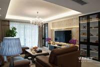 海湾茗园-140平米-三居室-现代简约风格装修效果图 (4)