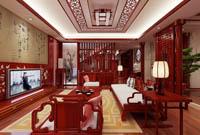 东方名都-189平米-中式古典风格 (4)
