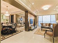 世茂香槟湖180平米四居室欧洲风情风格龙8国际pt老虎机效果图 (11)