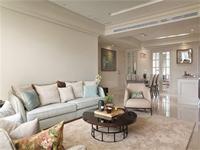 世茂香槟湖119平米二居室现代简约风格龙8国际pt老虎机效果图 (6)