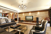 盛世华庭-130平米-三居室-欧美风格装修效果图 (9)