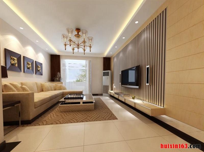 125平方三居室装修效果图欧式
