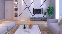 万盛理想国-74平米-一居室-现代简约风格装修效果图 (5)