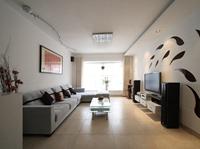 万科溪之谷-98平米-三居室-现代简约风格龙8国际pt老虎机效果图 (10)