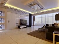 中铁诺德滨海花园-120平米-三居室-现代简约风格龙8国际pt老虎机效果图 (5)