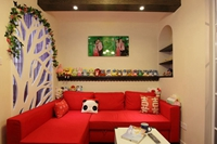 中冶蓝城-78平米-二居室-混合型风格龙8国际pt老虎机效果图 (6)