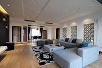 悦丽海湾-122平米-三居室-现代简约风格龙8国际pt老虎机效果图 (6)