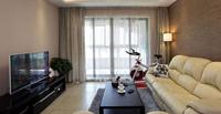 留仙居103平米四居室现代简约风格装修效果图 (5)
