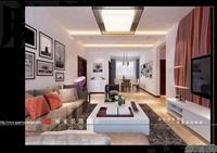 新城御景-98平米-二居室-现代简约风格装修效果图 (6)
