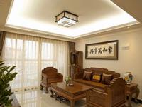 星海名城五期84平米二居室中式风格装修效果图 (6)