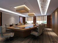 32平米会议室装修效果图 (4)