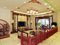 万科第五园135平米三居室新古典风格装修效果图 (6)