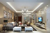 万科城138平米四居室现代简约风格装修效果图 (6)