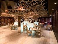 600平米饭店龙8国际pt老虎机设计效果图 (6)