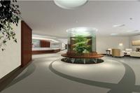 8000平米医院装修设计效果图 (10)