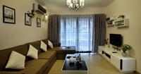 名豪丽城120平米四居室现代简约风格装修效果图 (5)