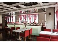 380平米饭店龙8国际pt老虎机设计效果图 (8)