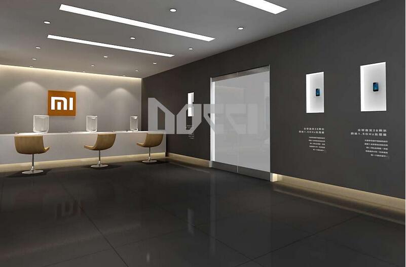 1200平米手机店装修设计效果图 (7)